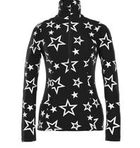 Goldbergh Goldbergh Clarisse pully met sterrenprint zwart