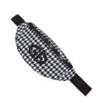 Goldbergh Goldbergh veila belt bag with logo pied de poule print