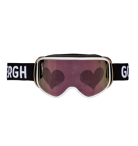 Goldbergh Goldbergh Heart skibril roze multicolor