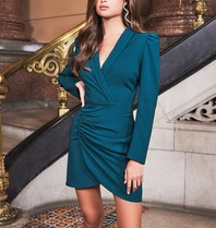 Lavish Alice Lavish Alice Ruby Holley wrap dress green