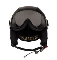 Goldbergh Goldbergh Glam ski helmet with black goggles