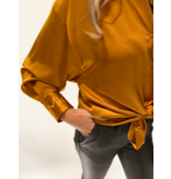 DMN Paris DMN Paris Chloe silk blouse orange