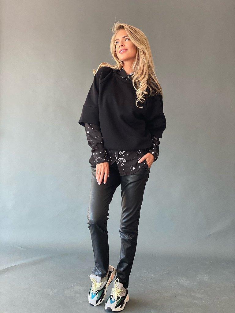 Est'seven Est'seven Roman sweater black