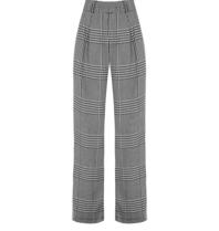 Rinascimento Rinascimento trousers with pied-a-poule print multicolor