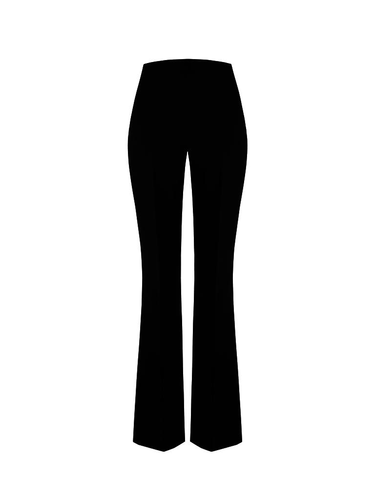 Rinascimento Rinascimento flared trousers black