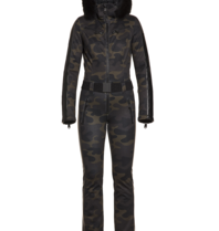Goldbergh Goldbergh Bush jumpsuit camouflage print multicolor