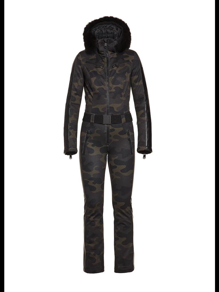 Goldbergh Goldbergh Bush jumpsuit camouflage print multicolor