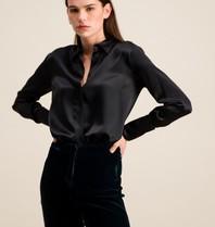 DMN Paris DMN Paris Regina silk blouse black