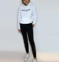 FALLON Amsterdam FALLON Amsterdam Saint Laurent sweater white