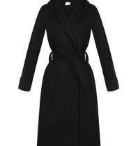 Rinascimento Rinascimento long cardigan with black hood