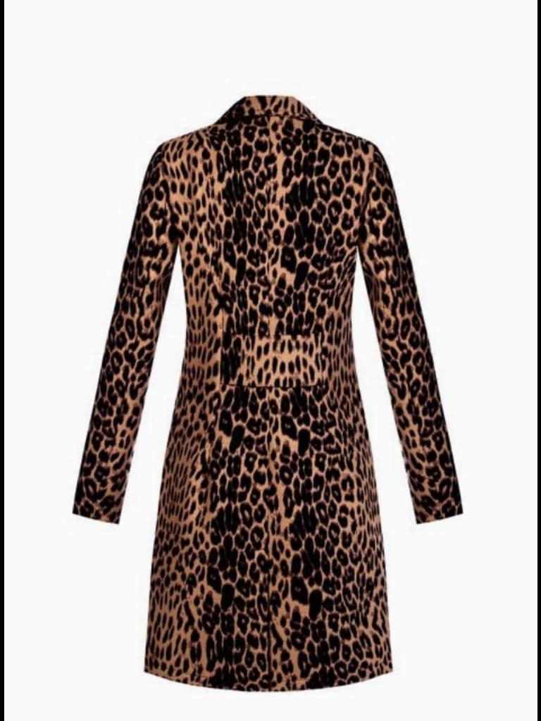 Rinascimento Rinascimento jacket with leopard print multicolor