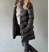 Est'seven Est'Seven Hiver coat long black