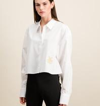 DMN Paris DMN Paris Baby Chloe embroidery blouse white