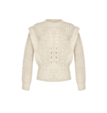 Rinascimento Rinascimento knitted sweater with beige details