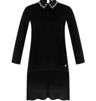 Rinascimento Rinascimento top with sequins details in black