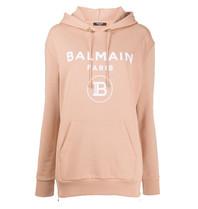 Balmain Balmain Sweater mit Logo beige