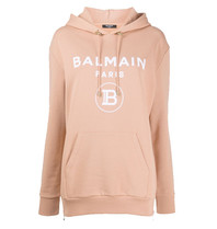 Balmain Balmain Sweater with logo beige