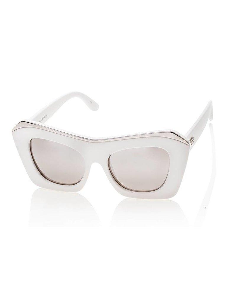 Le Specs Le Specs The Villian zonnebril wit