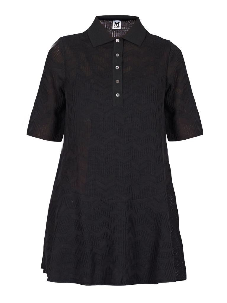 M Missoni Missoni schwarzen Kleid