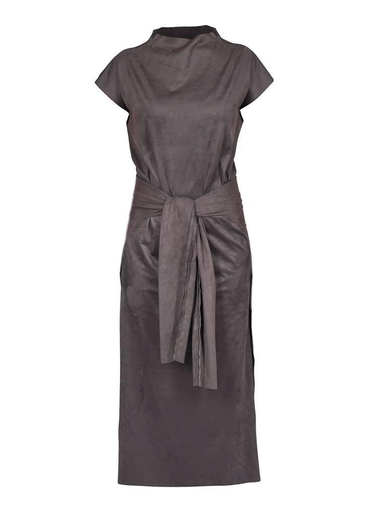 Kleid dunkel grau