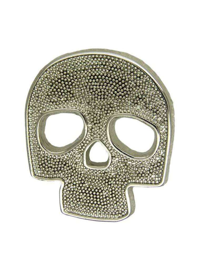Godert.Me Godert.me Skull Pin Silber