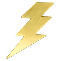 Godert.Me Godert.me Lightning pin goud