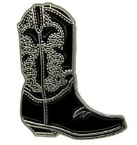 Godert.Me GODERT.ME Cowboy boot pin silver