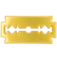 Godert.Me Godert.me Razor blade golden pin