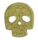 Godert.Me Godert.me Mini skull pin gold