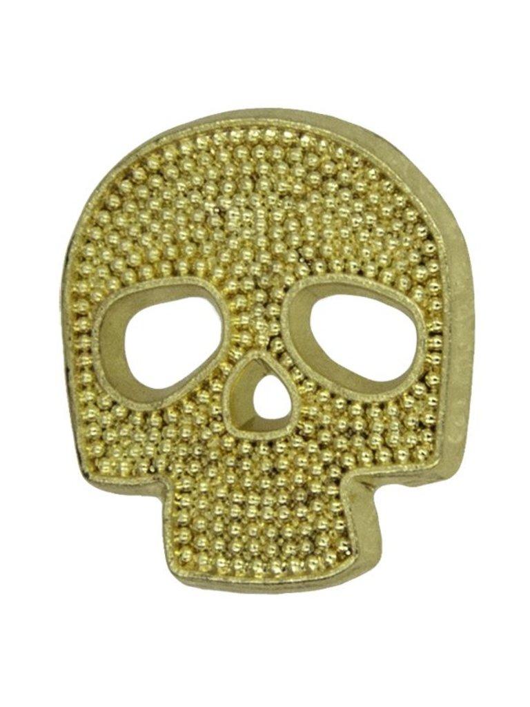 Godert.Me Godert.me Mini Skull Gold Pin