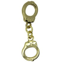 Godert.Me Godert.me Handcuffs pin gold