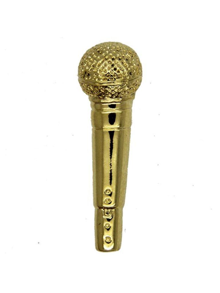 Godert.Me GODERT.ME Microphone pin goud