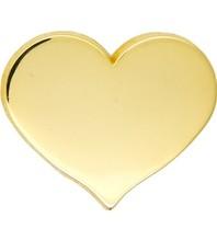 Godert.Me GODERT.ME Mini heart pin goud
