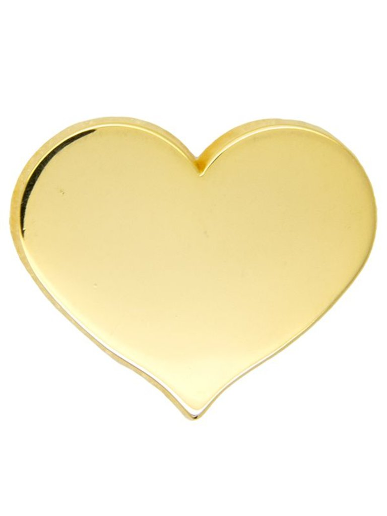 Godert.Me GODERT.ME Mini heart Pin gold