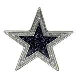 Godert.Me Godert.me Star Pin Silberglitter