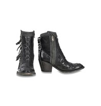 Mexicana Mexicana Mamacita embroidered boots black