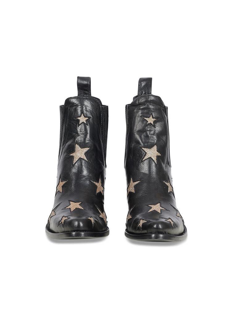 Mexicana Mexicana Circus boots black gold