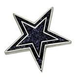 Godert.Me Godert.me Star glitter pin blauw
