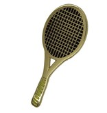 Godert.Me Godert.me Tennisracket pin gold