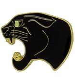 Godert.Me Godert.me Black panther gold Pin