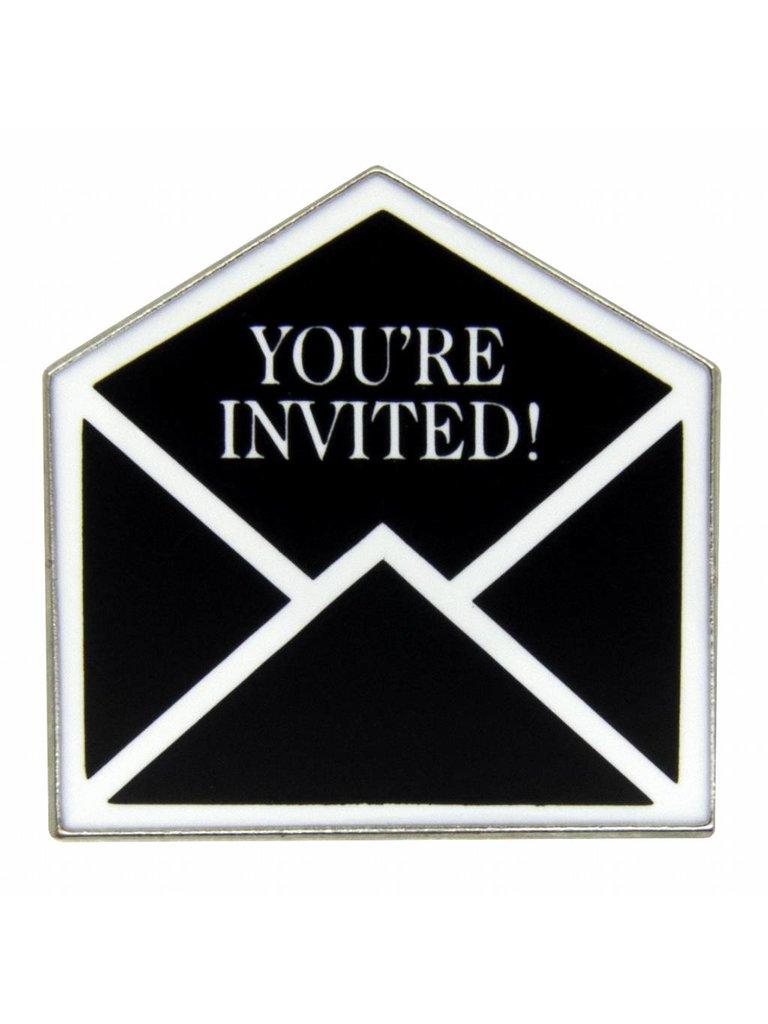 Godert.Me Godert.me You're invited pin zilver