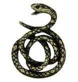 Godert.Me Godert.me Snake pin zwart goud