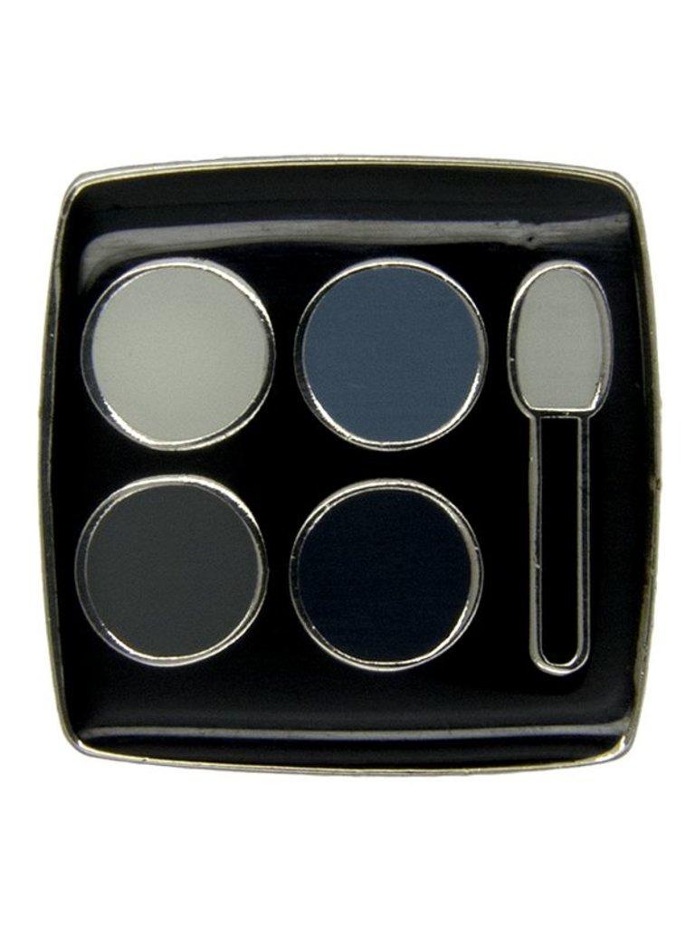 Godert.Me Godert.me Eye shadow box pin zilver