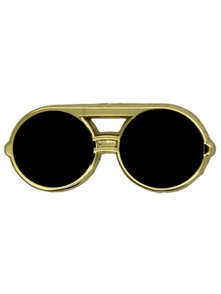 Godert.Me Godert.me Sunglass round gold Pin