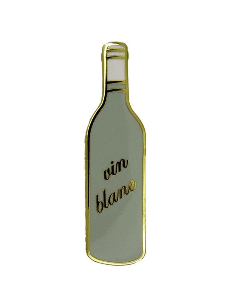 Godert.Me Godert.me Bottle white wine pin goud
