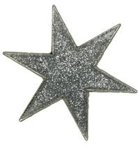 Godert.Me Godert.me Star pin glitter silver