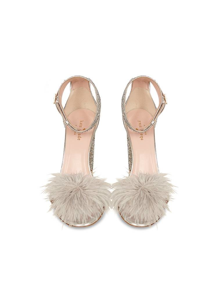 Kate Spade Kate Spade Ilona sandals silver glitter