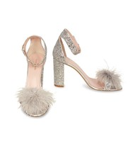 Kate Spade Kate Spade Ilona sandalen zilver glitter