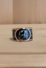 "Ring  aus Kupfer ""Wolf Night"""