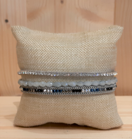 Fancy Armband Simply Chic grau